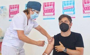 Kicillof se aplicó la segunda dosis de la vacuna contra el coronavirus  | Vacuna del coronavirus