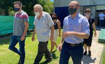 Guzmán fue hasta Moreno y tuvo una cargada agenda social | Provincia