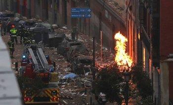 Cuatro muertos por la explosión del edificio en Madrid | España