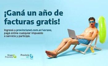 Provincia NET Pagos sortea un año de facturas gratis y descuentos semanales | Banco provincia