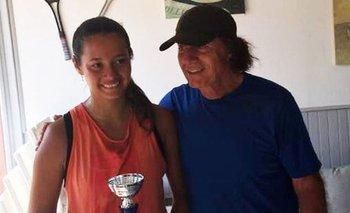 Quién es y cómo juega al tenis Andanin, la hija de Guillermo Vilas | Tenis