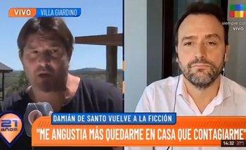 Damián de Santo lanzó polémicas declaraciones contra la vacuna del coronavirus | Coronavirus en argentina