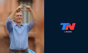 """""""No como un expresidente..."""": la burla de TN a Mauricio Macri   Tn"""