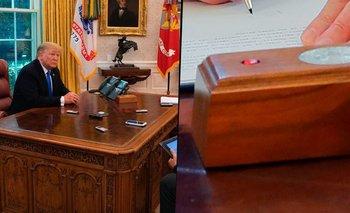 El botón secreto de Trump: para qué servía y por qué fue removido | Estados unidos