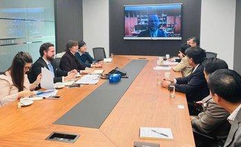 Embajada argentina en China busca financiamiento de pasos bioceánicos | Acuerdos con china