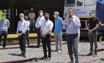 Massa ponderó el rol del tren en el interior para potenciar el federalismo   Transporte