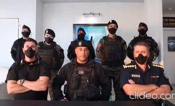 Rompieron el silencio los policías que saludaron a Bullrich en Villa Gesell | Patricia bullrich