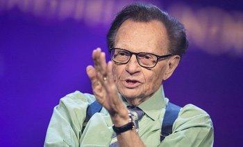 Murió Larry King, histórico presentador de televisión en EE.UU | Estados unidos
