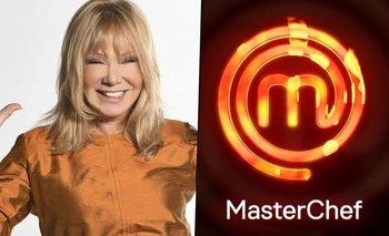 MasterChef 2: Soledad Silveyra filtra por error el nombre de un participante   Masterchef celebrity