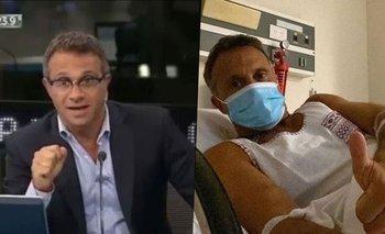 El dramático momento de Sergio Lapegüe tras contraer coronavirus | Sergio lapegue