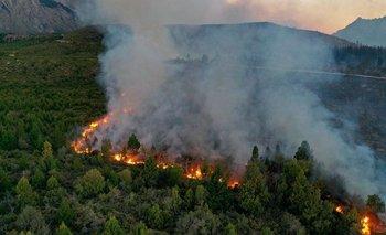Feroz incendio en El Bolsón: 2 mil hectáreas arrasadas por el fuego | Incendio