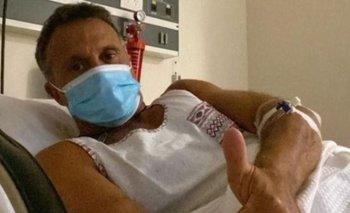 Sergio Lapegüe mostró qué ejercicio hace para recuperar sus pulmones | Sergio lapegue