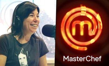 A días de su debut en MasterChef, María O'Donell ya tiene un fanático | Masterchef celebrity