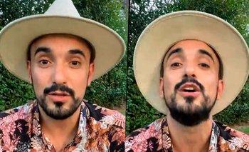 """El ataque de furia de Abel Pintos: """"Que se metan las entradas...""""   Instagram"""