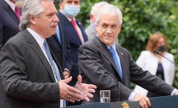 Cumbre Alberto - Piñera: el detalle de la reunión en Chile | Alberto fernández