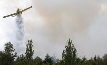 Alerta en El Bolsón: temen que los incendios lleguen a una planta de gas | Incendio