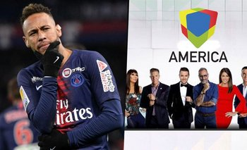 Neymar le tiró onda a una famosa conductora de América TV | Neymar