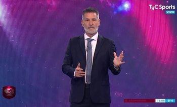 Repudio total: Diego Díaz imitó la voz de Falcioni, tras sufrir cáncer  | Diego díaz
