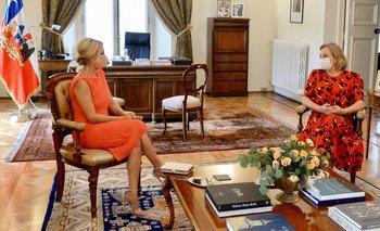 Fabiola Yañez y una agenda propia en su visita a Chile | Visita de estado