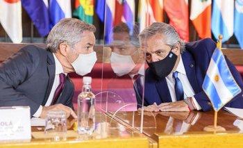 Solá instó a reforzar la unidad con Chile | Chile