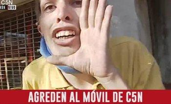 Empujones y gritos: violenta agresión a periodista de C5N en Morón | C5n