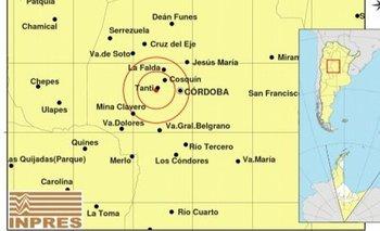 Fuerte sismo en Córdoba: alcanzó los 4,4 grados | Terremoto