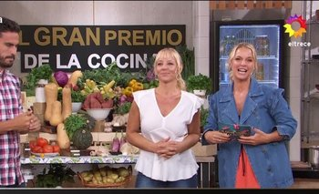 Jimena Monteverde se despidió de El gran premio de la cocina | El gran premio de la cocina