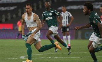 Palmeiras le ganó a Santos y es campeón de la Copa Libertadores   Fútbol