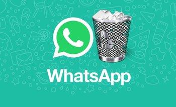 WhatsApp: todo lo que tenés que saber antes de borrar un mensaje   Celulares