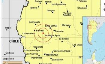 San Juan: registraron un nuevo sismo en la provincia | San juan