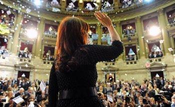1M: Fuerte expectativa por el discurso de la Presidenta y estricta seguridad   Cristina kirchner