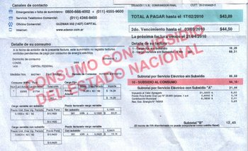 El Banco Ciudad advirtió que el tarifazo afectará el costo de vida | Electricidad