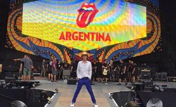 Rolling Stones en Argentina: el tuit de Jagger en la previa al show   Rolling stones
