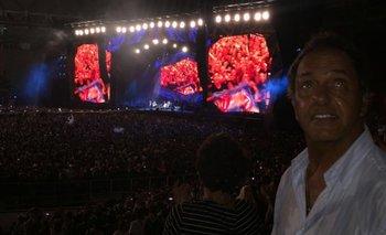 Scioli Stone: los tuits del ex gobernador tras el show   Rolling stones