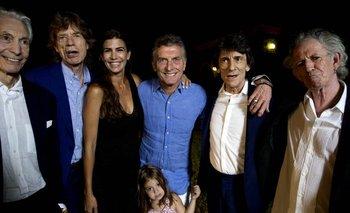 Rolling Stones en Argentina: tras los shows, Macri cenó con la banda   Macri presidente