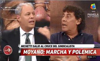 Micheli arrinconó a un periodista de Clarín y lo hizo confesar por qué atacan a Moyano | Hugo moyano