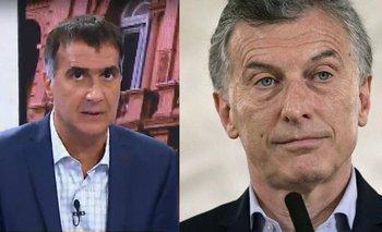 """Laje, sobre el escándalo de Díaz Gilligan y el millón en dólares: """"Es indefendible""""   Mauricio macri"""