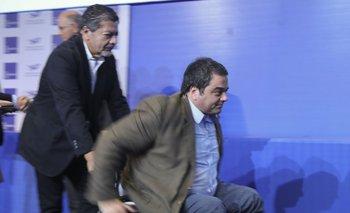 """Gerardo Martínez criticó a Moyano y defendió el """"diálogo"""" con el Gobierno nacional   Hugo moyano"""