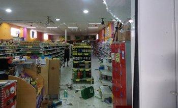 Saqueo en un supermercado chino de la provincia de Buenos Aires | Saqueos
