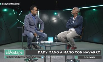 "Dady Brieva con Navarro: ""Soy la Lilita del kirchnerismo"" | Roberto navarro"