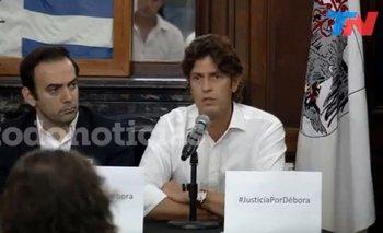 Lousteau se emocionó en el homenaje a Débora Pérez Volpin | Martín lousteau