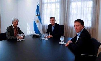 La visita del FMI confirmó la debilidad del Gobierno y la insustentabilidad de la deuda   Por rodrigo núñez