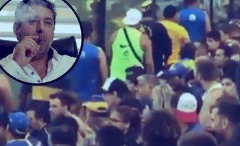 Video: La barrabrava de Boca apretó a los hinchas para que no canten contra Macri y Angelici | Boca juniors