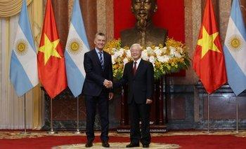 Mauricio Macri acuerda vender limones y mandarinas a Vietnam a cambio de comprar electrodomésticos | Asia