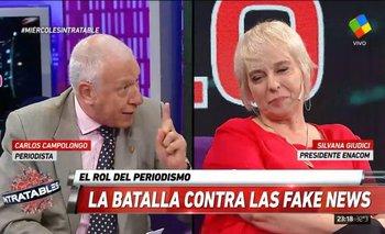 Panelista de Intratables explotó contra funcionaria macrista por los favores a Clarín   Afsca