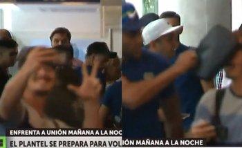 Wanchope Ábila agredió a un hincha de River y todo quedó filmado | Boca juniors