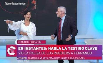 Mónica Gutiérrez y Canaletti, a los gritos en el programa | Monica gutierrez