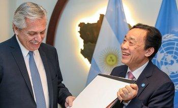 La FAO colaborará en la lucha contra el hambre en Argentina | Alberto fernández