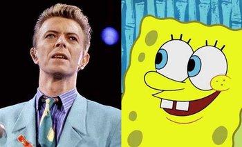 ¿En qué se relacionan David Bowie y Bob Esponja? | Curiosidades