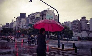 Alerta por tormentas con lluvias intensas en CABA  | Clima